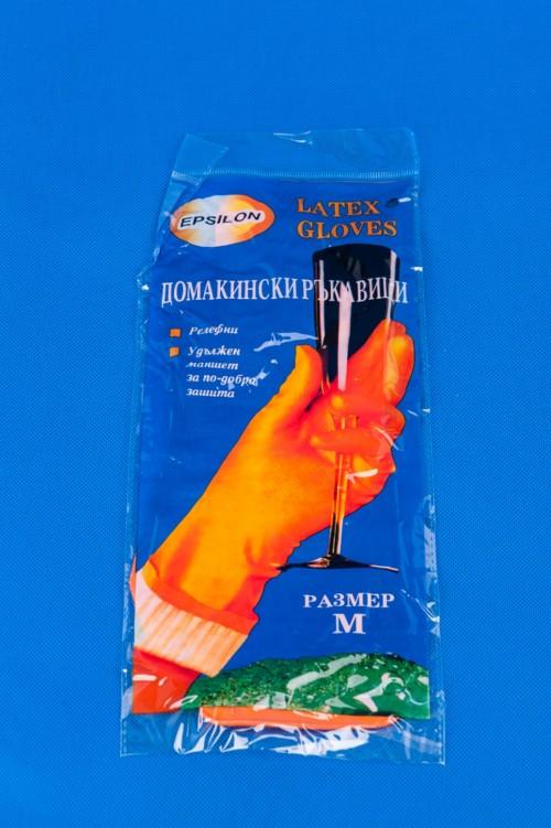 """Ръкавици домакински-""""S"""""""