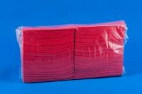 салфетки -33х33-1/8/-х150бр.в пк./-червена